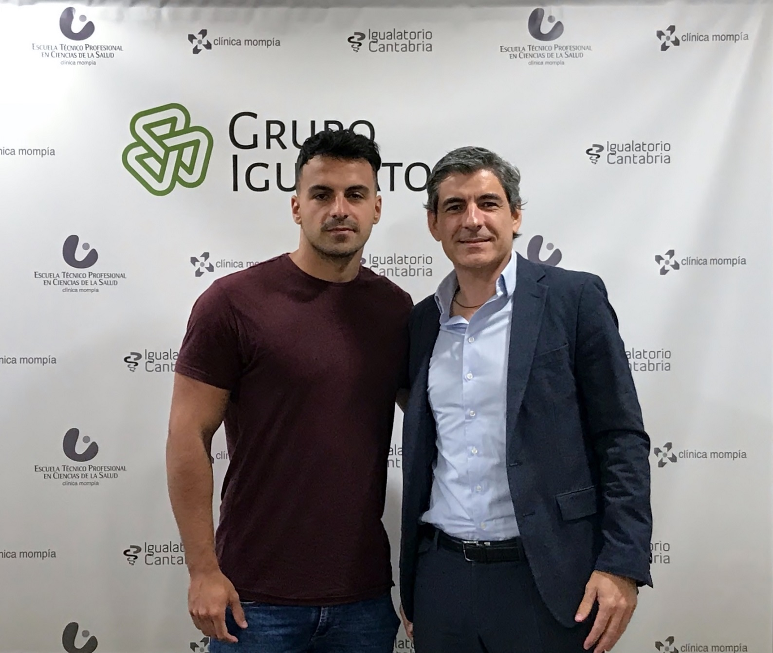 Igualatorio Cantabria Refuerza Su Apoyo Al Deporte Patrocinando Al Nadador Eduardo Blasco