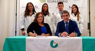 El Grupo Igualatorio Firma Un Convenio De Colaboración Con Oximesa