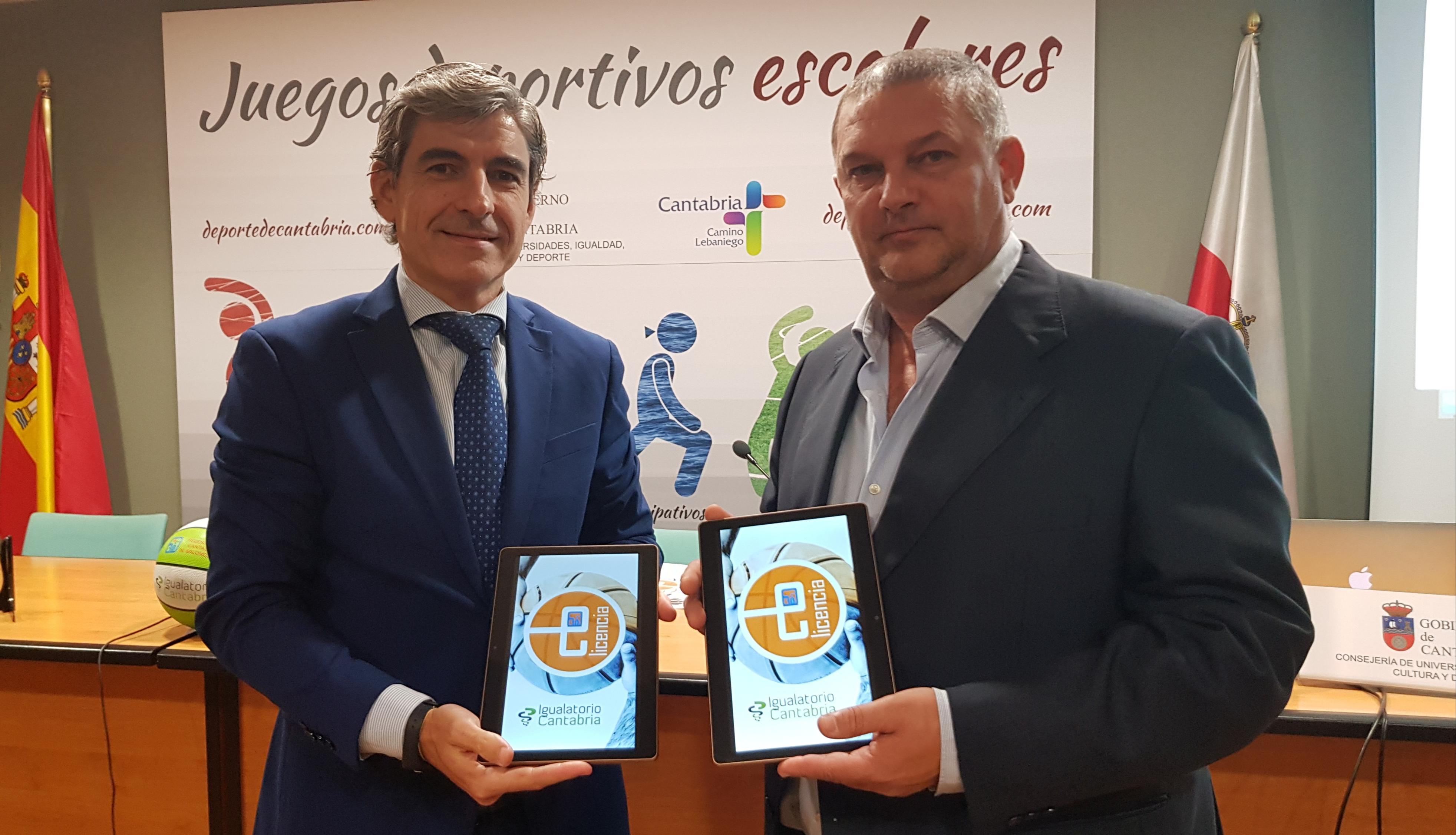 Igualatorio Cantabria Renueva Su Colaboración Con La Federación Cántabra De Baloncesto