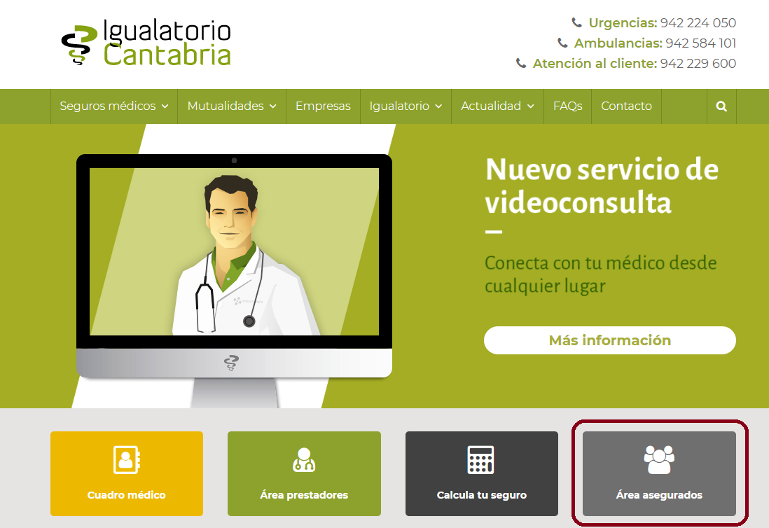 Area Privada Web