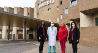 La Presidenta Del Colegio De Enfermería De Cantabria Visita Clínica Mompía